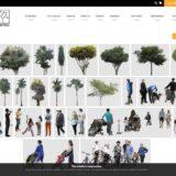 【添景・人・樹木】建築パース・模型写真加工に最適なフリー写真素材サイトまとめ